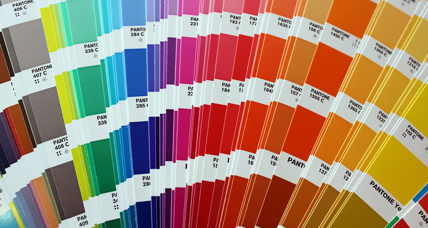 Pantone colour book